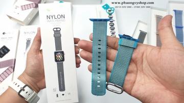 Dây nylon Apple Watch (series 1, 2, 3, 4) chính hãng Coteetci